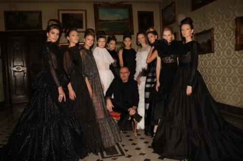Nino Lettieri ha festeggaito i suoi 10 anni di Alta Roma a Palazzo Ferrajoli