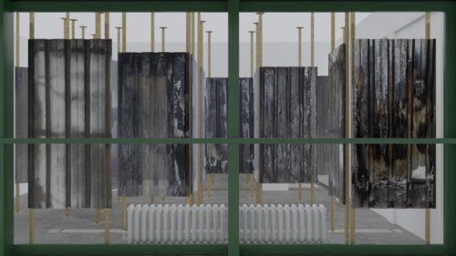 Atelier Montez – Gli scarti urbani di Pietralata diventano installazioni scenografiche in mostra a Vienna