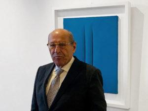 Premio ANGAMC 2020 alla carriera di Roberto Casamonti. La premiazione in occasione di:Arte Fiera a Bologna