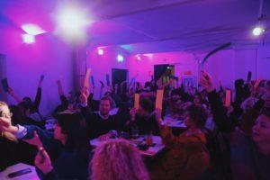 Mare Culturale Urbano diventa un salotto per vedere e commentare Il Festival Della Canzone Italiana