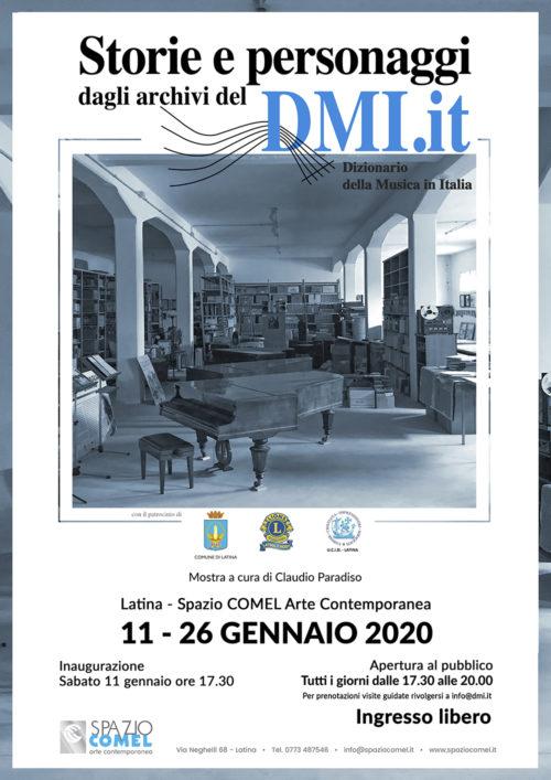 Storie e personaggi dagli Archivi del DMI allo Spazio COMEL di Latina