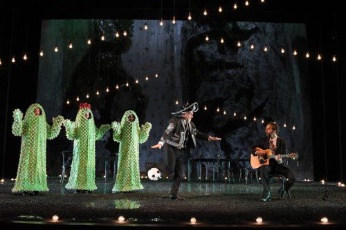 Tango del calcio di rigore, lo spettacolo in scena al Teatro Brancaccio di Roma