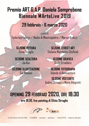 Seconda Edizione del Premio Daniela Semprebene, il vernissage all'ART G.A.P. Gallery di Roma