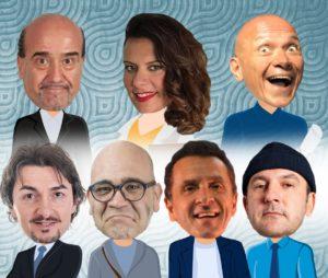 6 soliti noti, la commedia cabaret al Teatro Roma