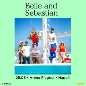 Belle and Sebastian: i 25 anni di carriera si festeggiano con un'unica e imperdibile data italiana