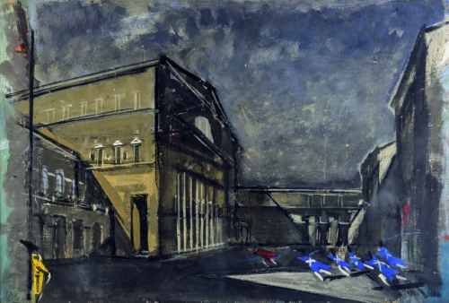 La Certosa di Parma. La città sognata di Stendhal interpretata da Carlo Mattioli, la mostra ospitata a Palazzo Bossi Bocchi di Parma