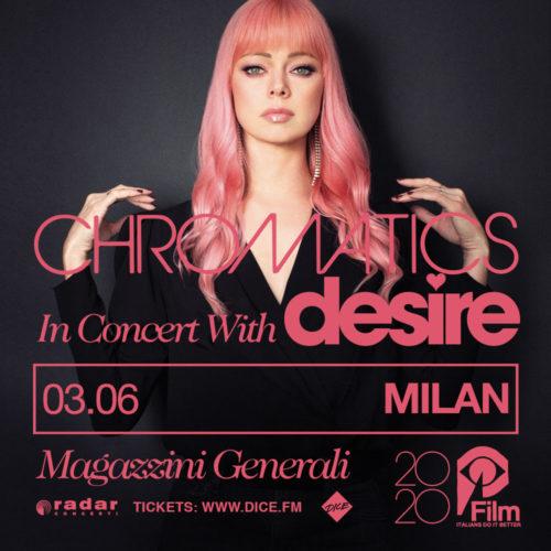 Chromatics In Concert With Desire: un'unica data italiana per presentare il nuovo disco CLOSER TO GREY e l'ultimo singolo TOY