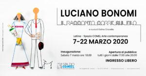Il Racconto corre sul filo di Luciano Bonomi allo Spazio COMEL di Latina