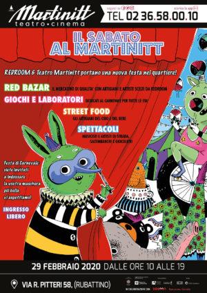 Il 29 febbraio sarà… Il sabato al Martinitt! Per il Carnevale la festa di Lambrate trasloca