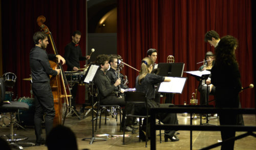 """""""L'Histoire du soldat"""" di Stravinsky con l'Ensemble del Conservatorio Cantelli di Novara alla Camera del Lavoro di Milano"""
