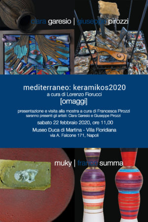 Mediterraneo: Keramikos 2020, il primo degli eventi collaterali al Museo Duca di Martina a Napoli