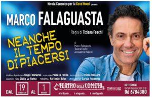 """""""Neanche il tempo di crescere"""" con Marco Falaguasta al Teatro della Cometa di Roma"""