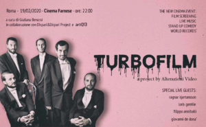 Turbo Film Guerra e Pace di Alterazioni Video approda al cinema Farnese a Roma