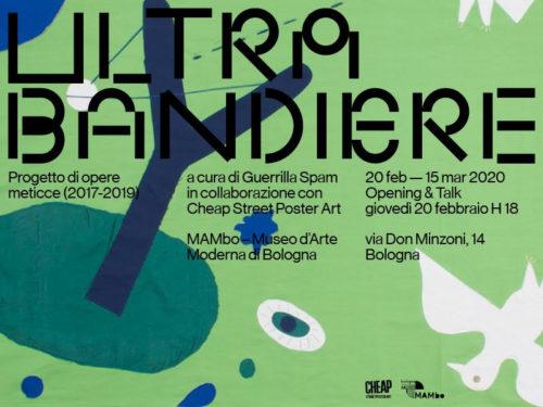 Ultrabandiere, il progetto ospitato al MAMbo di Bologna