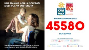 Trenta Ore per la Vita 2020 torna in tv per aiutare concretamente tante mamme con la sclerosi multipla