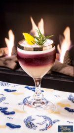 Tusculum, il drink inedito romano ideato per San Valentino di Max La Rosa, proprietario e barman del Divan Japonais di Frascati