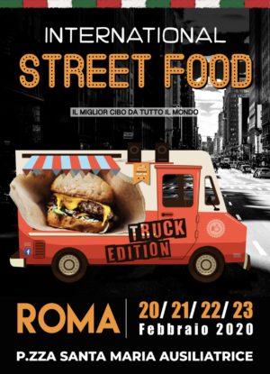 IV Edizione del Festival Internazionale dello Street Food a Piazza Santa Maria Ausiliatrice Roma