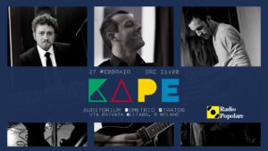 Dalle musiche per Prada al debutto solista: Kape presenta Cliché all' Auditorium Demetrio Stratos di Milano