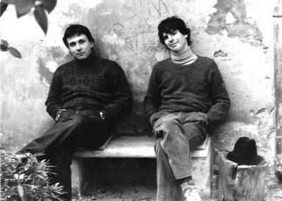 Paolo Baldoni e Luca Bonaffini