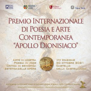 Annuale internazionale di Poesia e Arte Apollo dionisiaco 2021